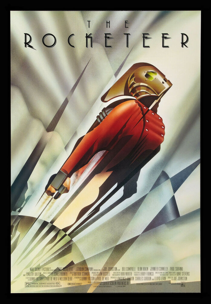 THE ROCKETEER * CineMasterpieces DS ORIGINAL ART DECO ...