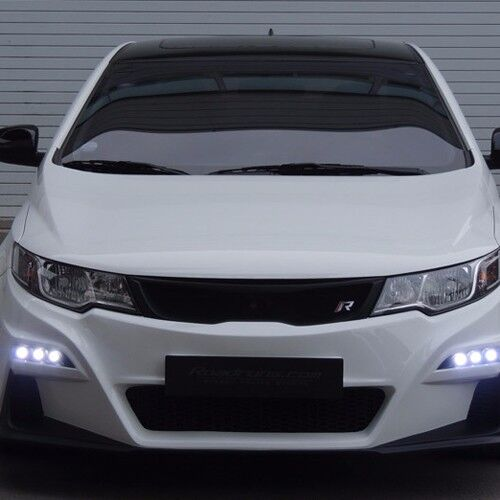 ROADRUNS Front Body Kit Bumper + Grille + LED Daylight for KIA Forte Koup 10-13 | eBay