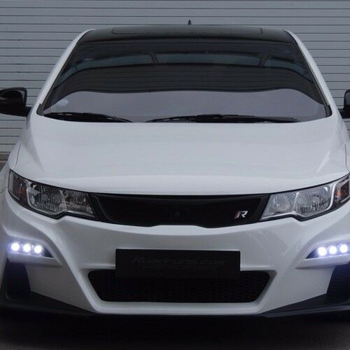 ROADRUNS Front Body Kit Bumper + Grille + LED Daylight for ...