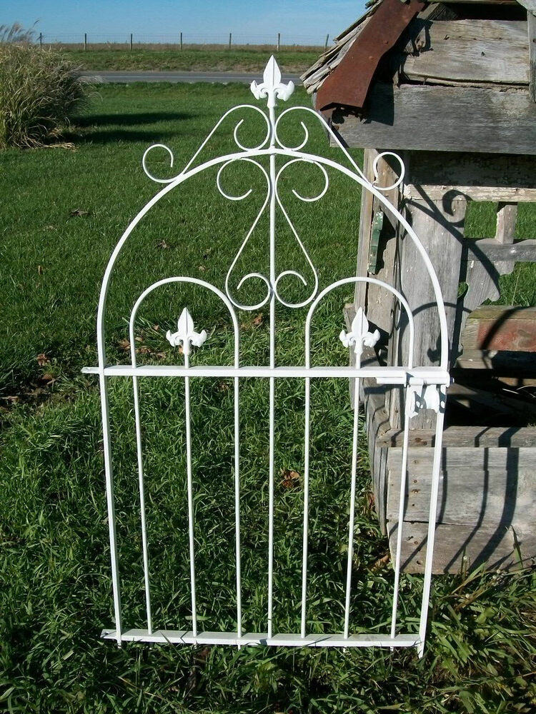Handmade 37 Quot Tall Solid Steel Historical Style Gate Works