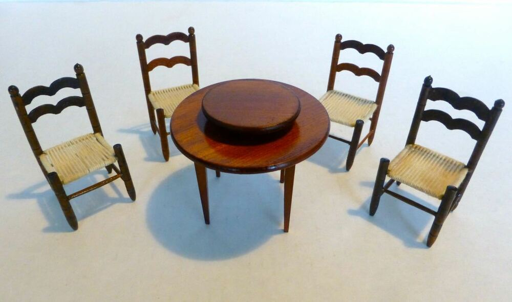 set 0f dollhouse furniture dining room colombia sonia messer ebay