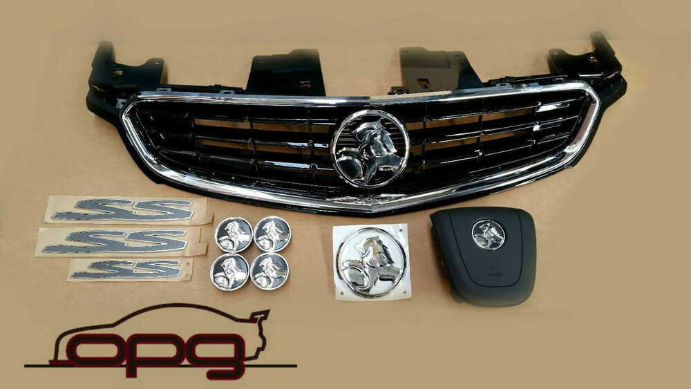 grille boot badge horn wheel caps vf ss chevrolet to. Black Bedroom Furniture Sets. Home Design Ideas
