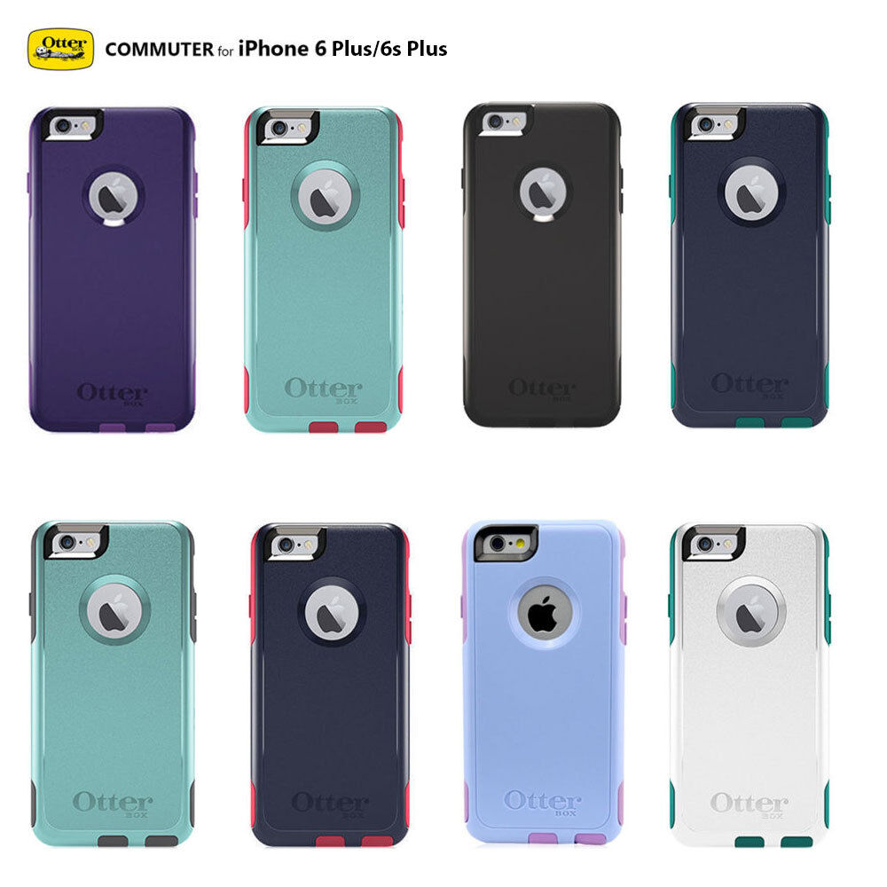 authentic oem otterbox commuter series case for apple iphone 6 plus 6s plus ebay. Black Bedroom Furniture Sets. Home Design Ideas