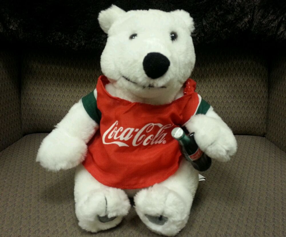 coke stuffed bear