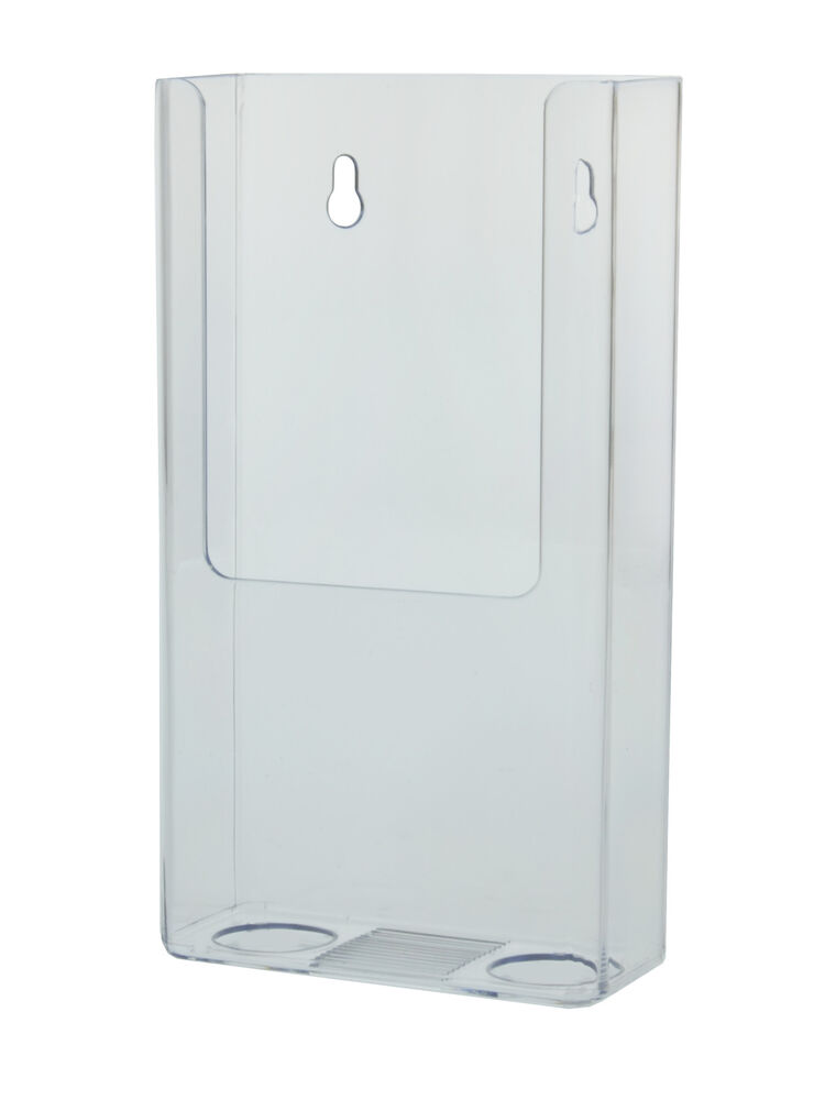 Lot Of 12 Clear Acrylic Counter Top Wall Mount Display