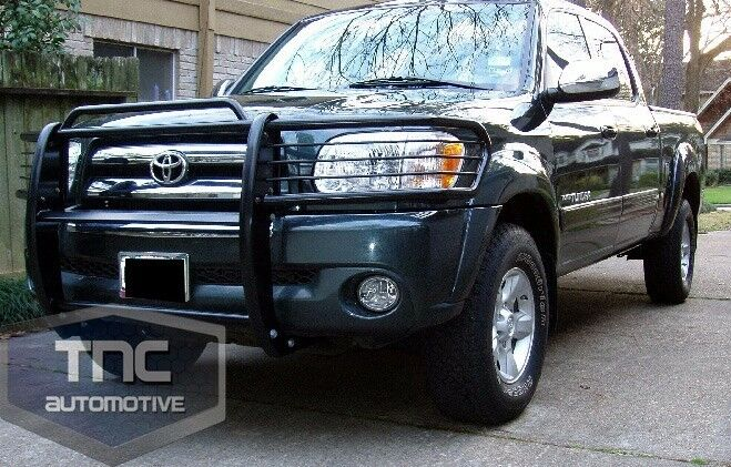 2000 2006 Toyota Tundra Grill Brush Guard Black Powder
