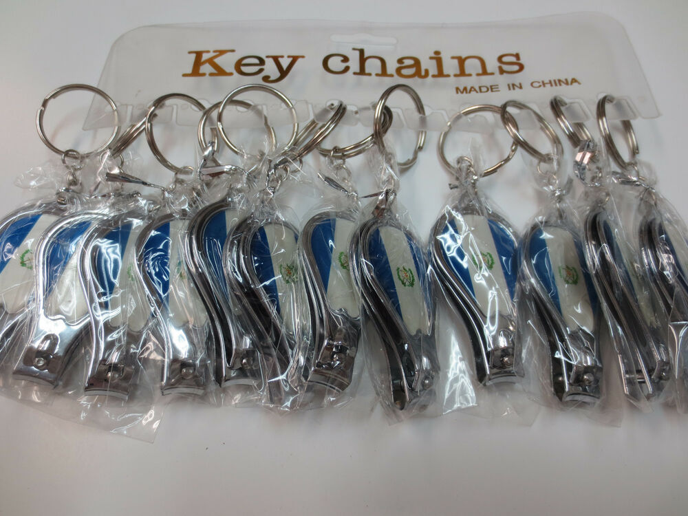 lot of 12 nail clippers and bottle opener key chains free shipping ebay. Black Bedroom Furniture Sets. Home Design Ideas