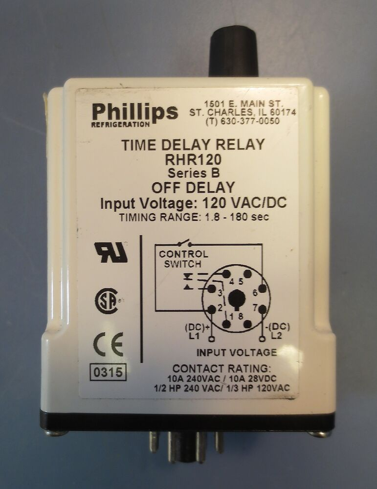 S L on Solid State Delay Timer