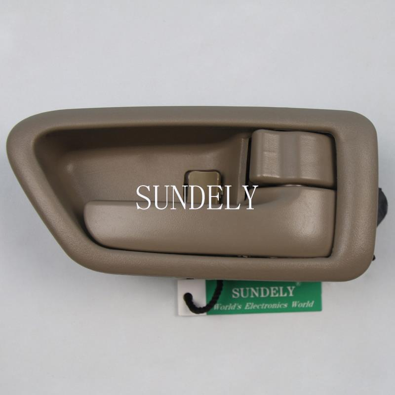 Front Rear Right Passenger Inside Door Handle Tan For Toyota Camry 1997 2001 Ebay