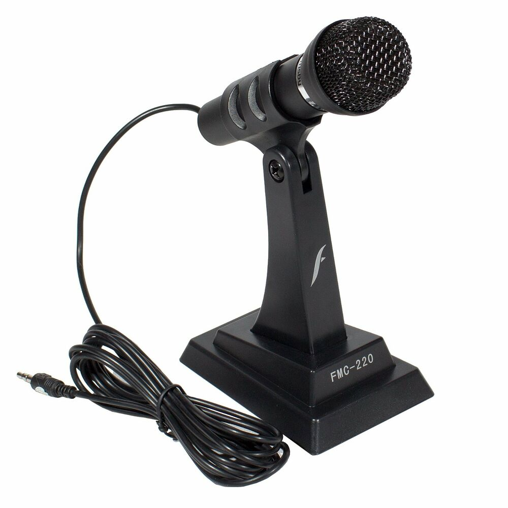Microphone For Computer Desktop : Computer laptop desktop pc notebook noise canceling stand