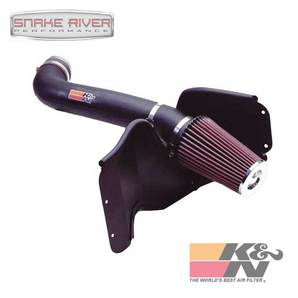 2004 Jeep Grand Cherokee V6: K&N PERFORMANCE COLD AIR INTAKE 1999-2004 JEEP GRAND