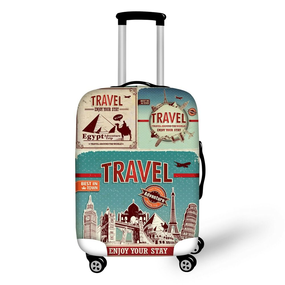 Dust Proof Elastic Travel Spandex Luggage Cover Suitcase