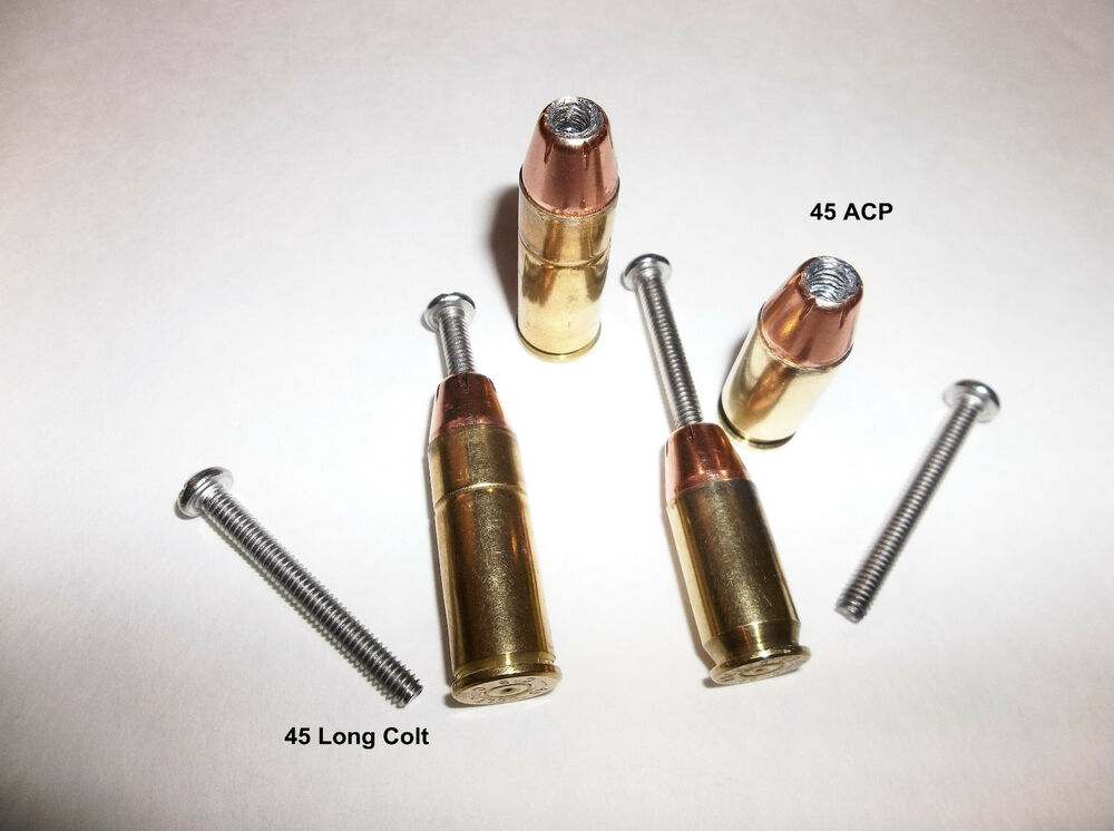 Handcrafted 45 Long Colt Or 45 Acp Bullet Drawer Pulls