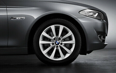 1x Bmw Genuine Alloy Wheel 18 Quot V Spoke 328 Rim F10 5