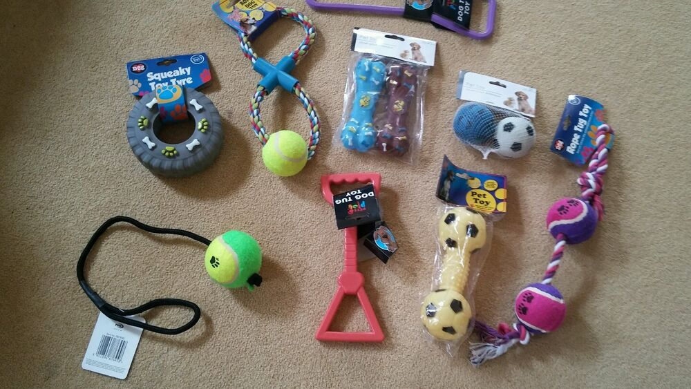 Large Dog Squeaky Pull Toys