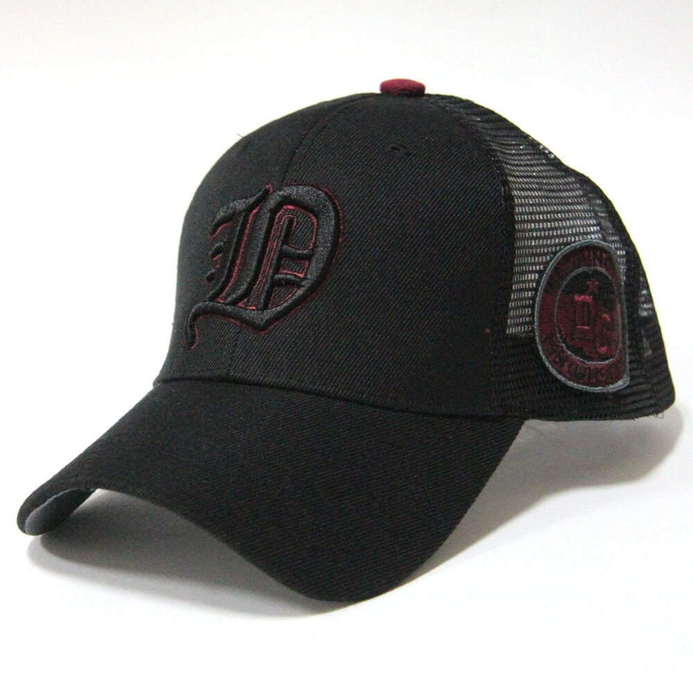 "Cool Snapback Hats: Embroidered ""D"" Logo Summer Trucker Hat Baseball Cool Mesh"