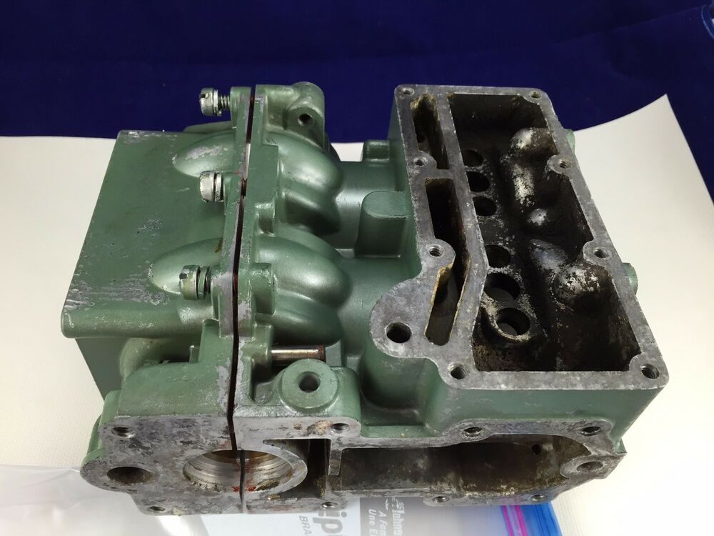 Block Cylinder Elgin Sears 1949 5hp Outboard Motor Parts