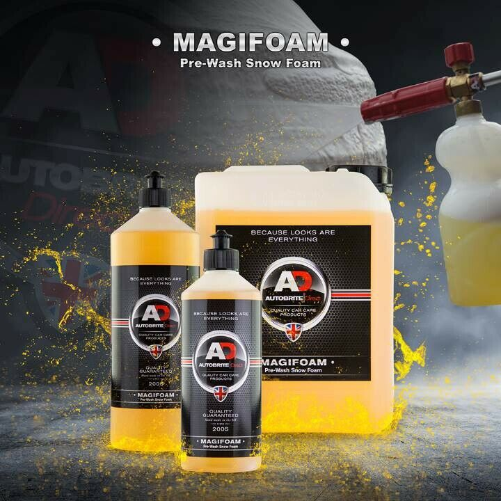 autobrite direct magifoam pre wash snow foam 500ml ebay. Black Bedroom Furniture Sets. Home Design Ideas