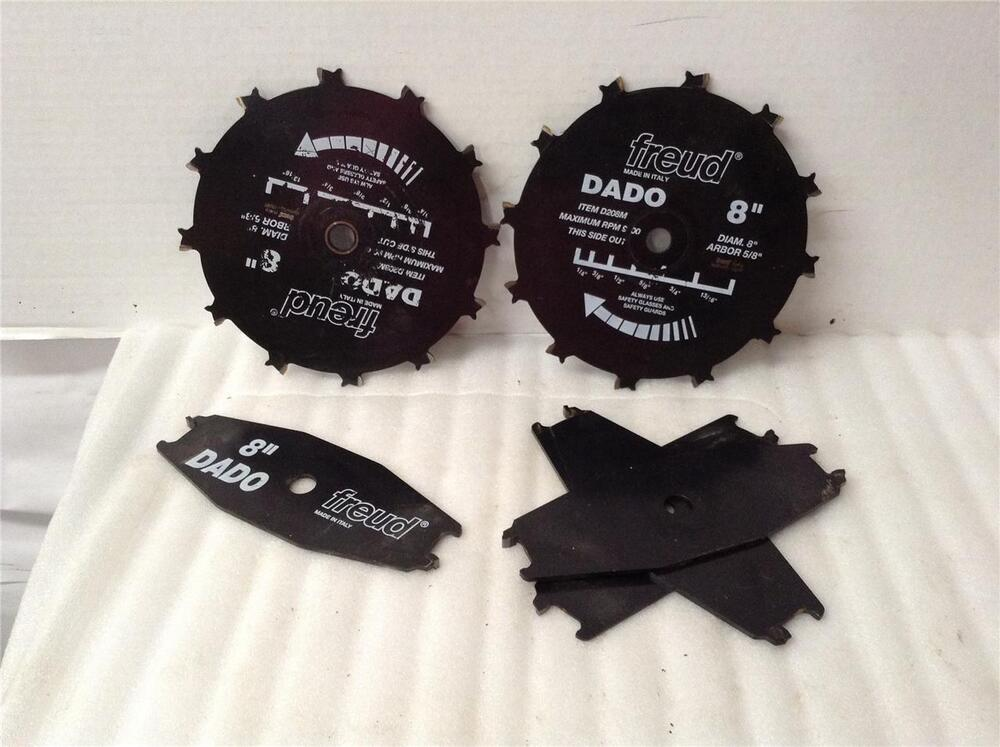 Freud 8 custom table saw blade dado tsp 60 ebay for 10 dado blade for table saw
