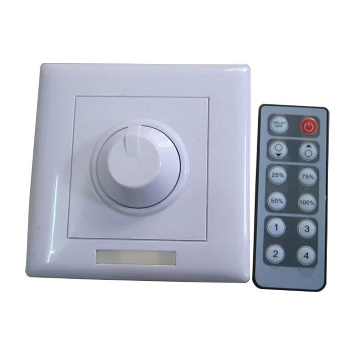 Dc12v 24v 12key Remote Control Low Voltage Led Dimmer