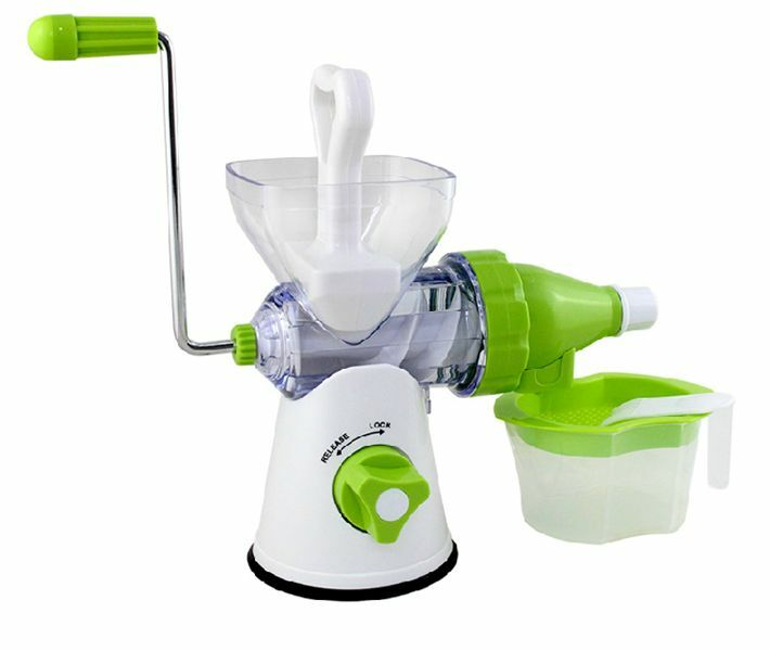 Hand Operated Slow Juicer : Manual Fruits Press Juicer Lemon Squeezer Juice Extractor Machine Hand Operated eBay