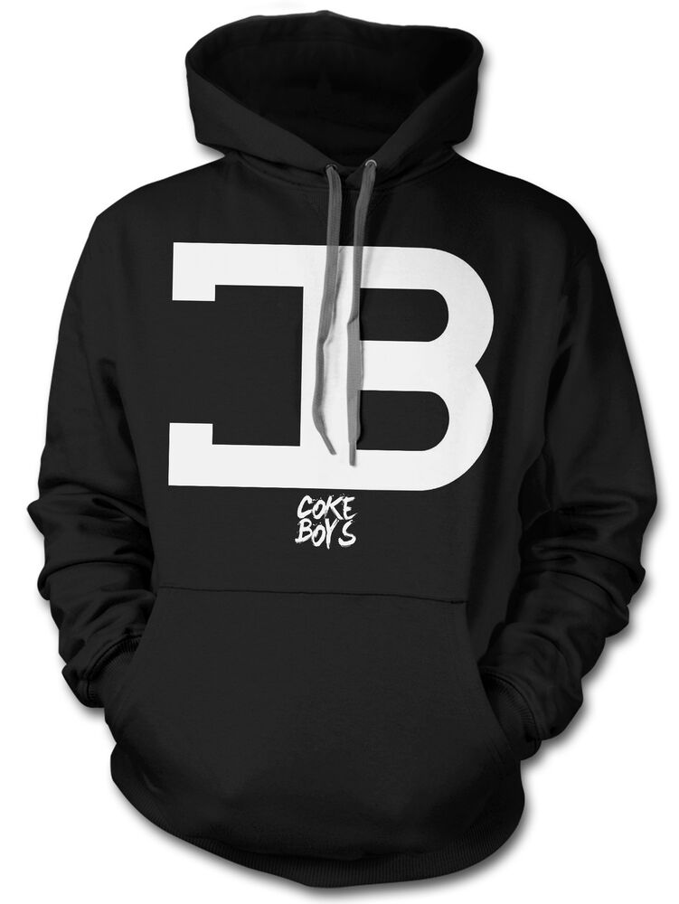 coke boys cb logo hoodie french montana music hip hop. Black Bedroom Furniture Sets. Home Design Ideas
