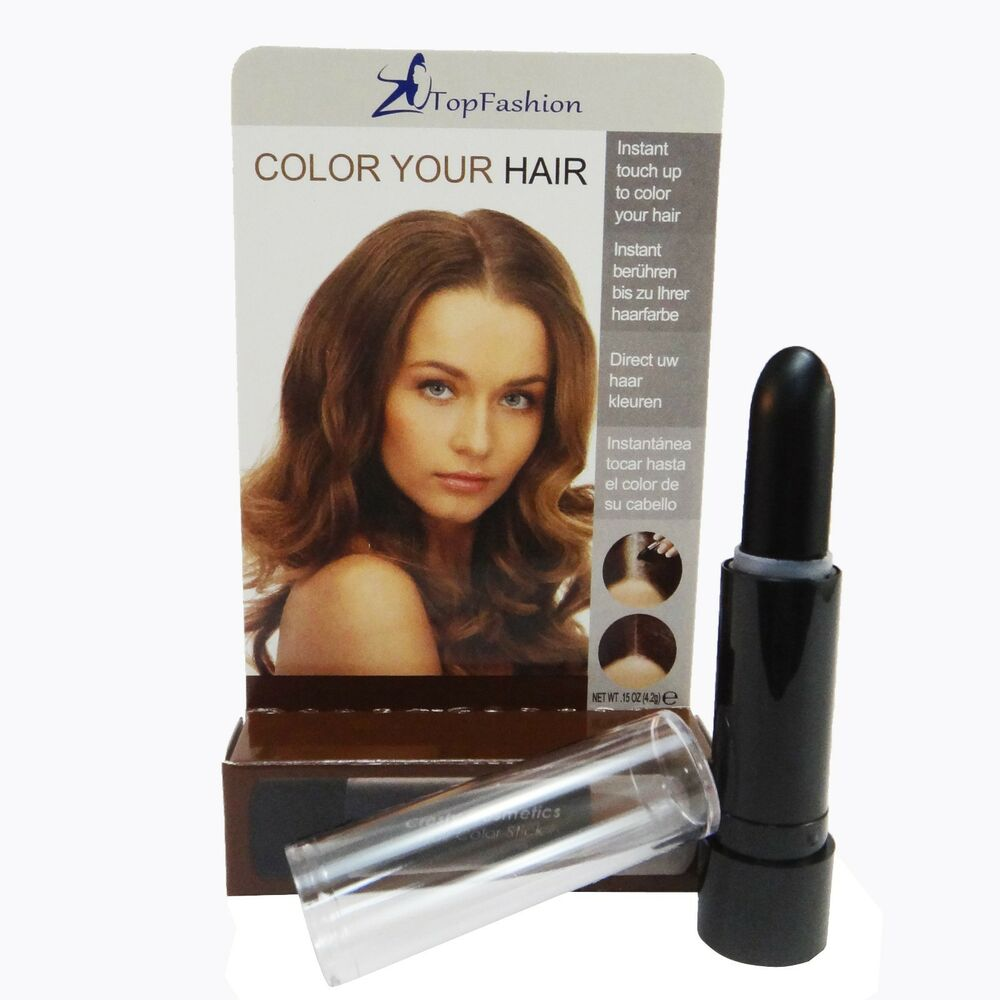 Temporary Cosmetic Cover Your Grey White Hair Touch Up