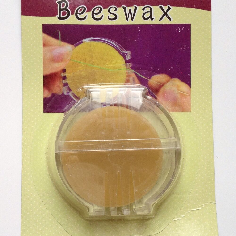 New Beeswax Sewing Thread Needles Quilting Needle Thimble