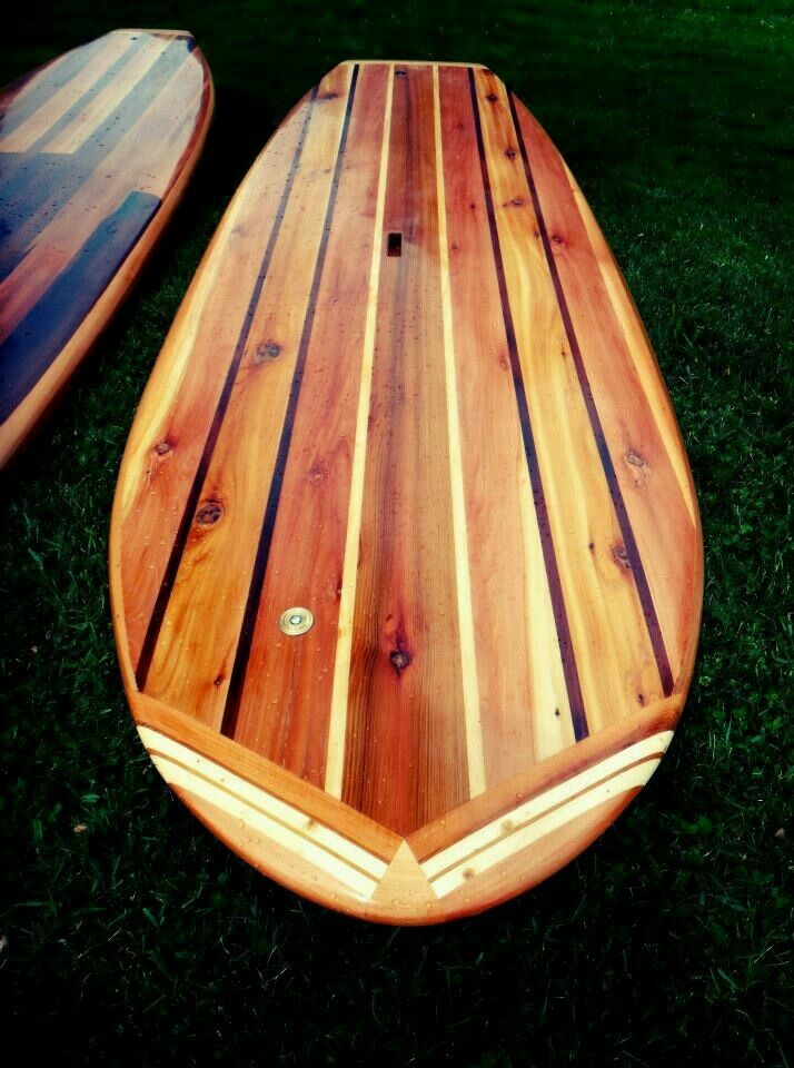 Build Your Own 8 39 Hollow Wooden Stand Up Paddle Board Wood Sup Plans Blueprints 1478349727 Ebay