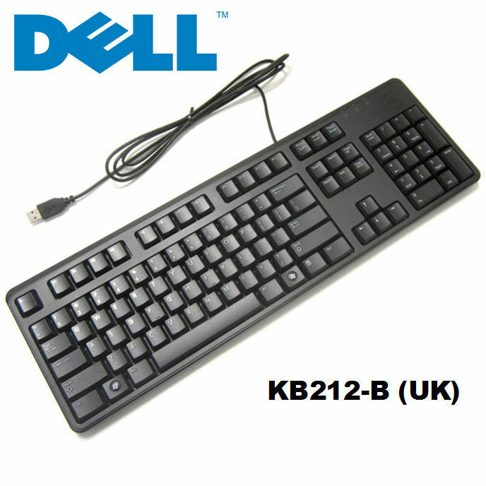 Dell USB Keyboard Computer Keyboard KB212 for Desktop UK ...