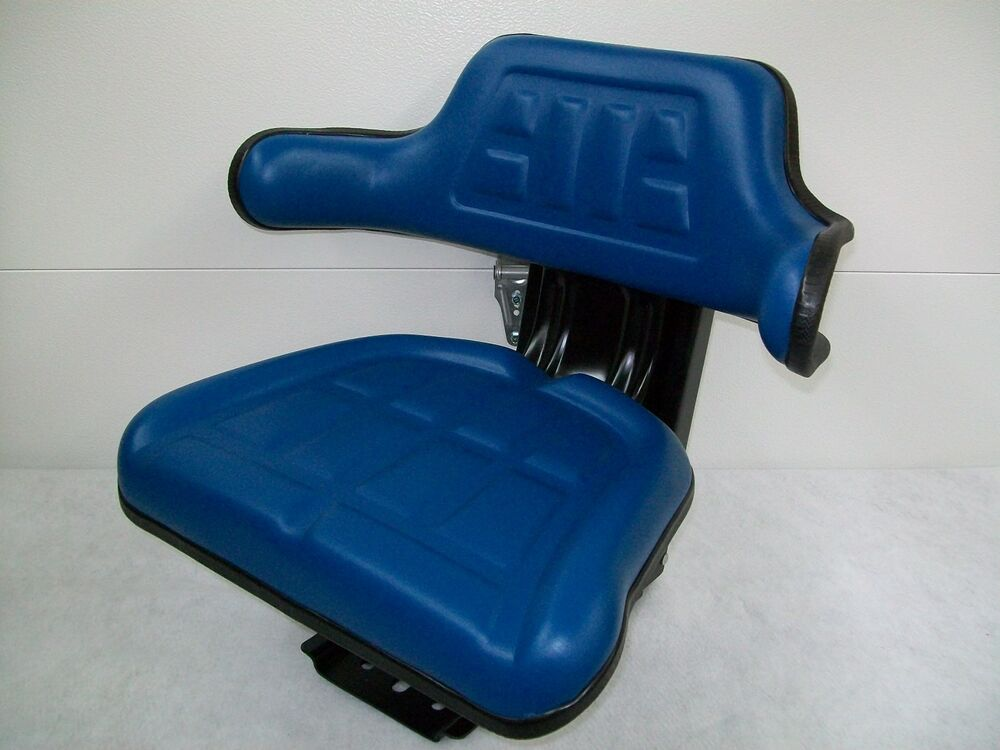 Tractor Seat Suspension Parts : Tractor seat ford blue waffle farmtractors universal fit