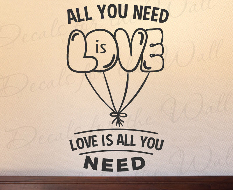 Wall Decor All You Need Is Love : All you need is love beatles lennon mccartney wall art