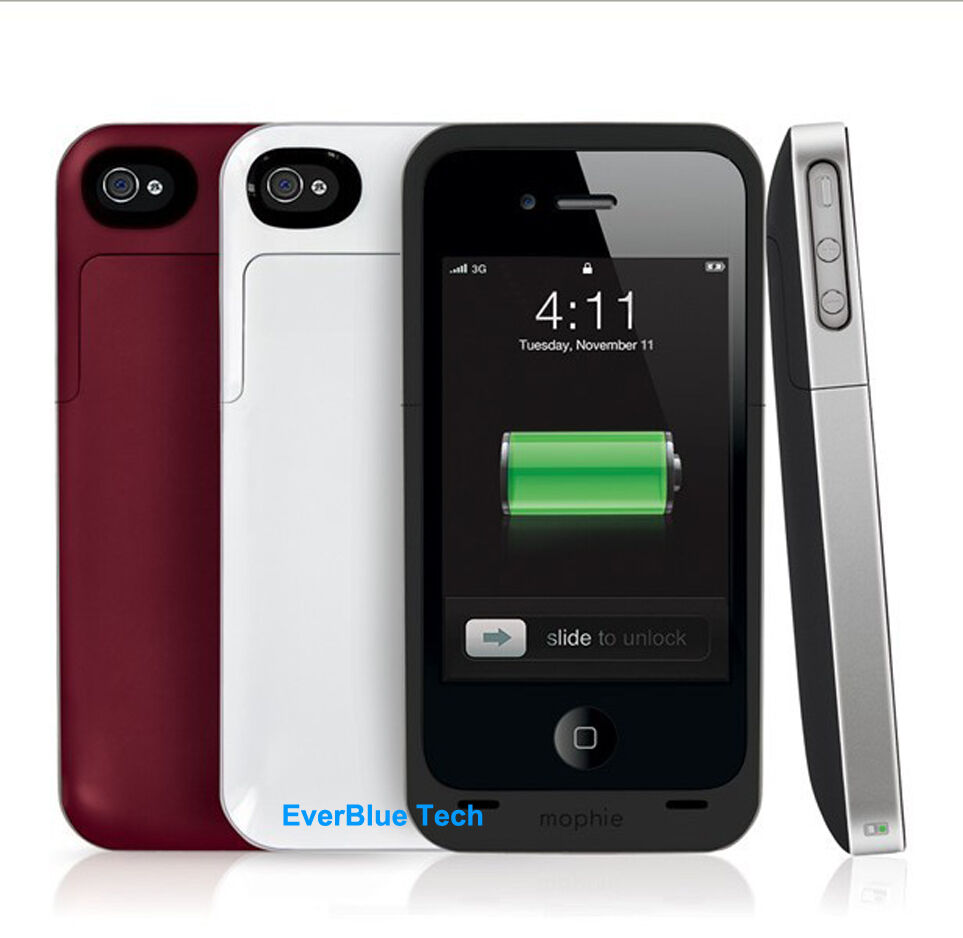 mophie juice pack air for iphone 4 4s rechargeable battery. Black Bedroom Furniture Sets. Home Design Ideas