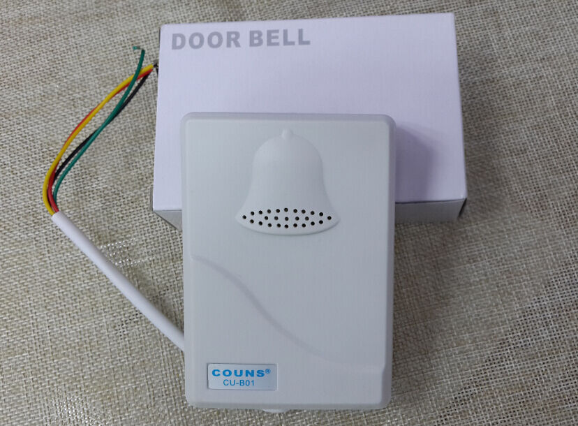 wired door bell doorbell chime home office security for access control