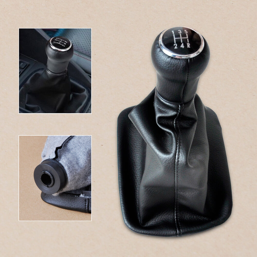 1998 Audi A8 Interior: 5 Speed Gear Shift Knob Gaiter Gaitor Boot For AUDI A6 C5