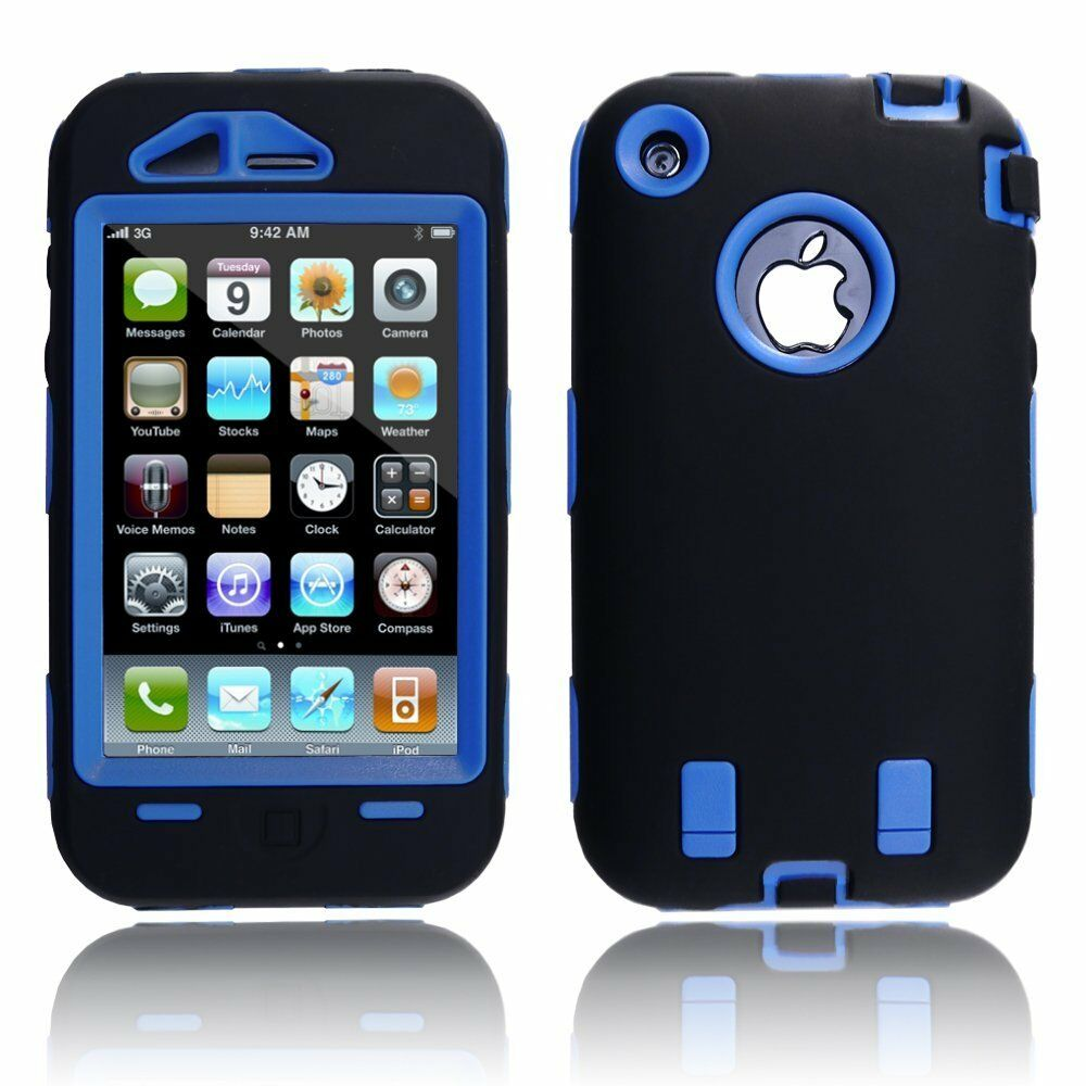 iphone 3gs cases armor hybrid shell cover for apple iphone 3g 10828