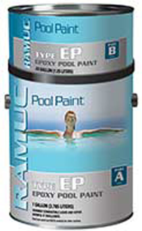 Ramuc type ep epoxy paint for swimming pools steps and slides ebay for Epoxy coating for swimming pools