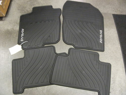 2007 2012 Toyota Rav4 All Weather Floor Mat Set Pt908