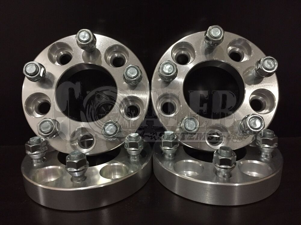 """4 pcs 1 25"""" Inch 5x120 Wheel Spacers 25mm Adapters 12x1 5"""