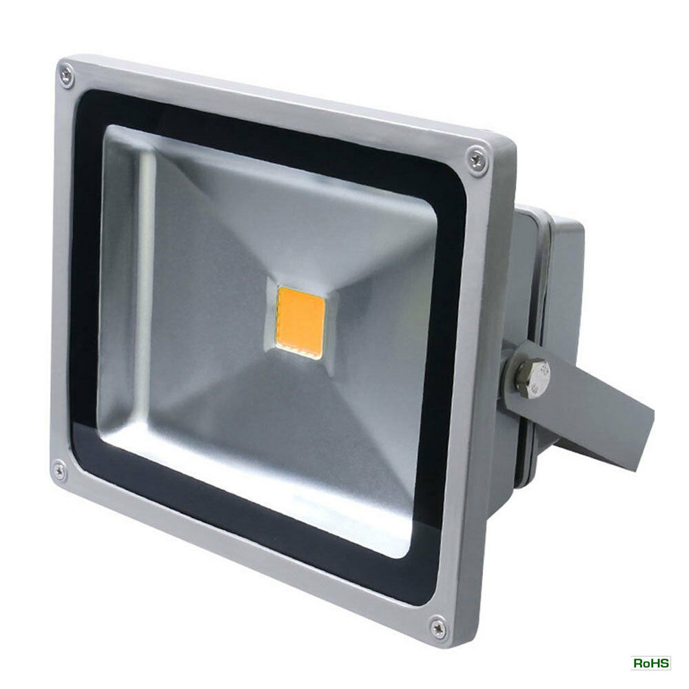 12-24V DC Waterproof IP65 50 Watt Outdoor LED Flood Light ...