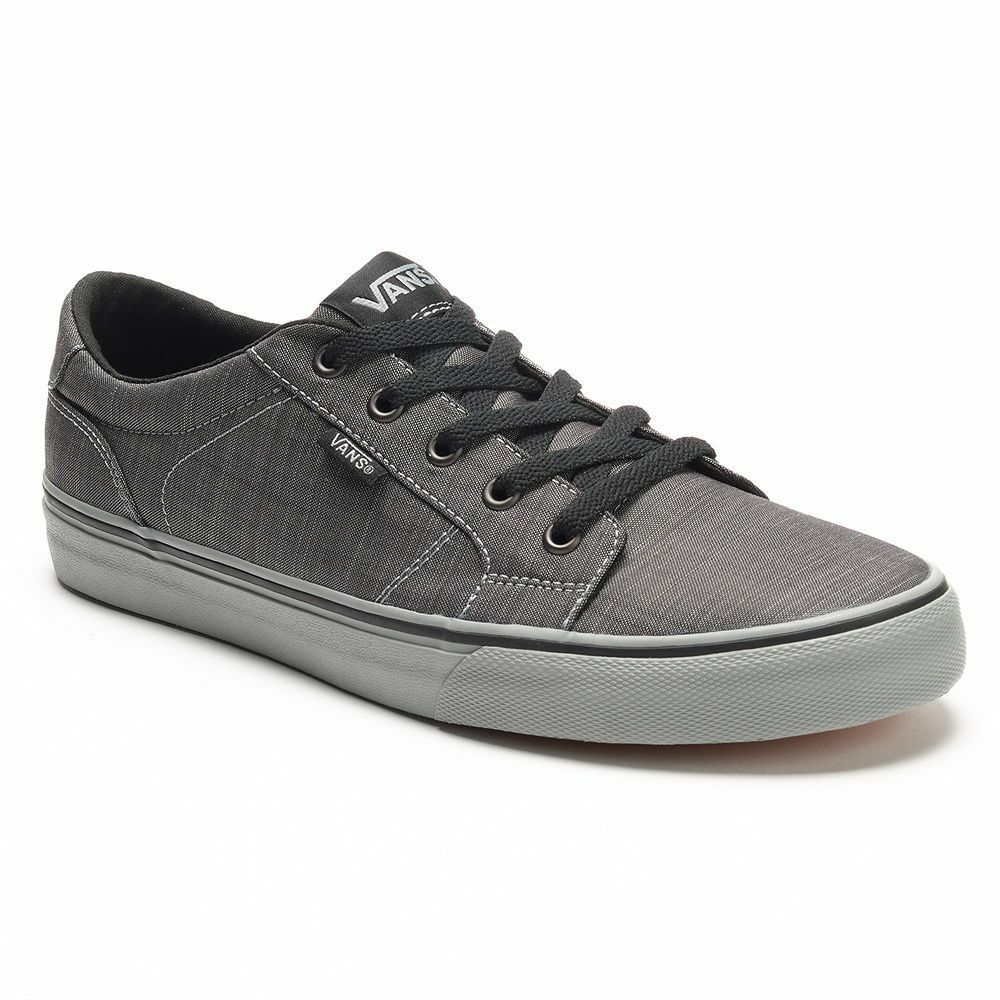nib vans s bishop skate shoes gray black all sizes ebay