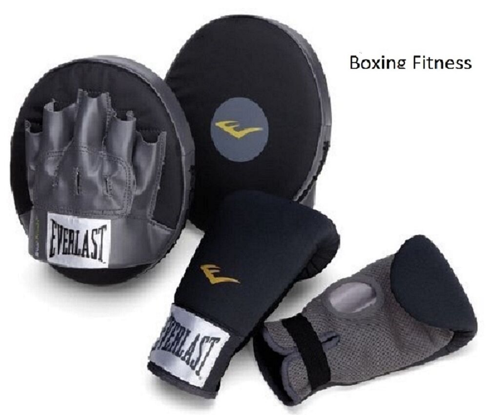 Kit Boxing Fitness Heavy Mma Punching Everlast Gloves Training Sport Equipment Ebay