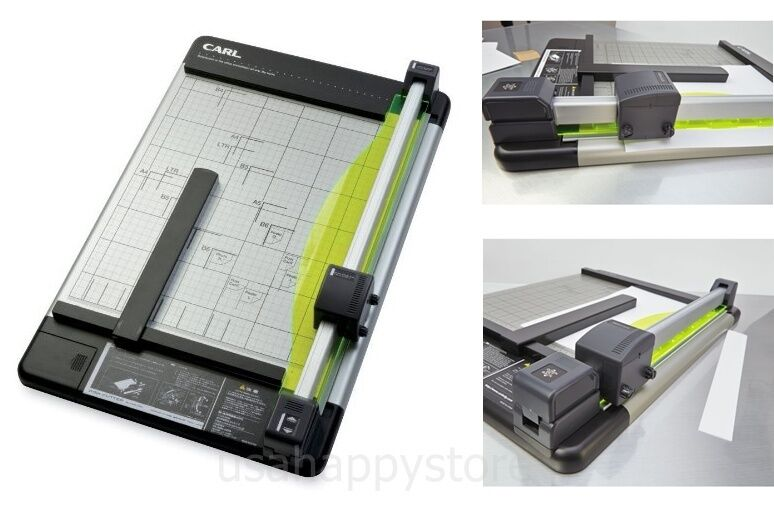how to clean paper cutter blade