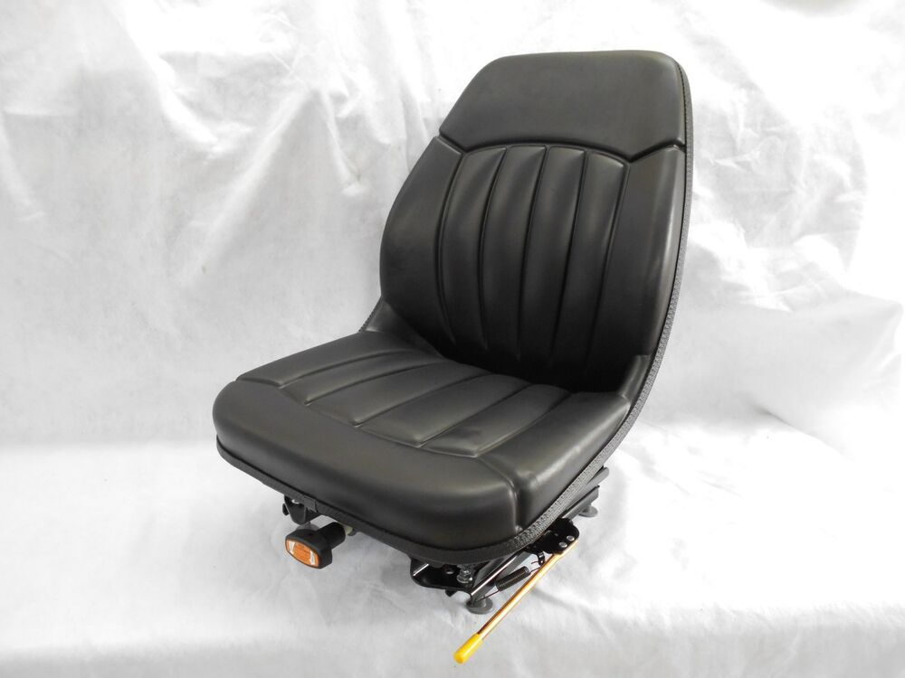 Bobcat Seat Replacement : Black suspension seat bobcat s