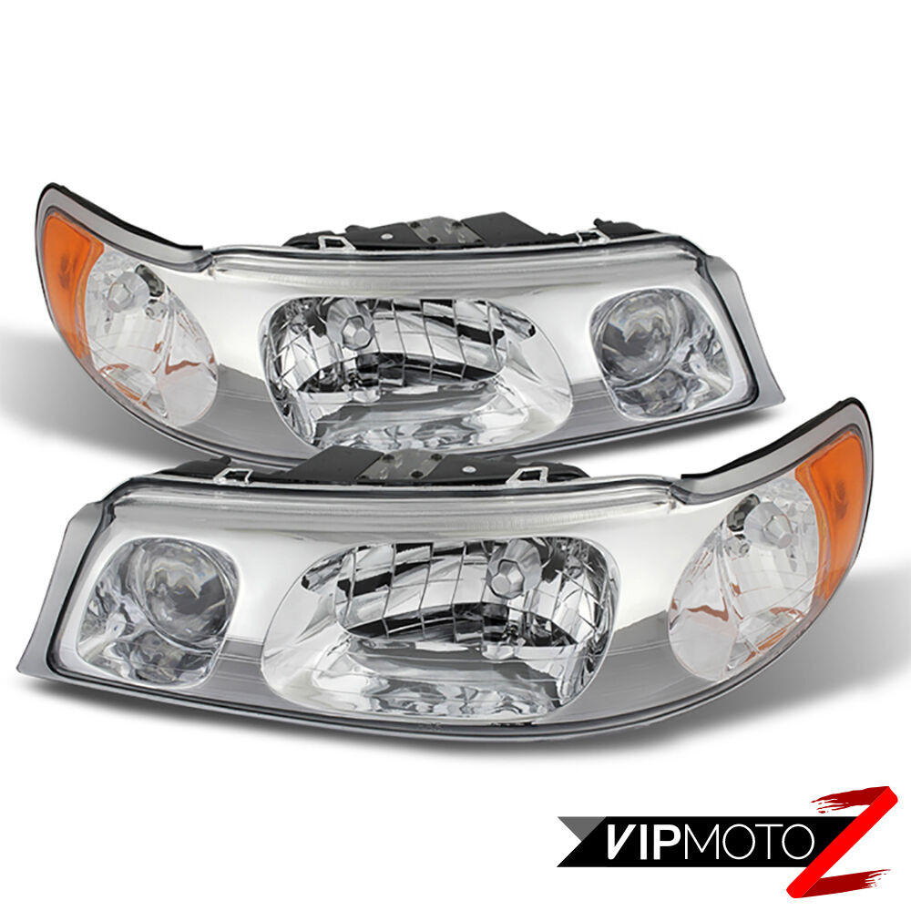 Car Town Motors Payment >> 1998-2002 Lincoln Town Car Chrome Front LEFT RIGHT Headlights Headlamp Assembly | eBay