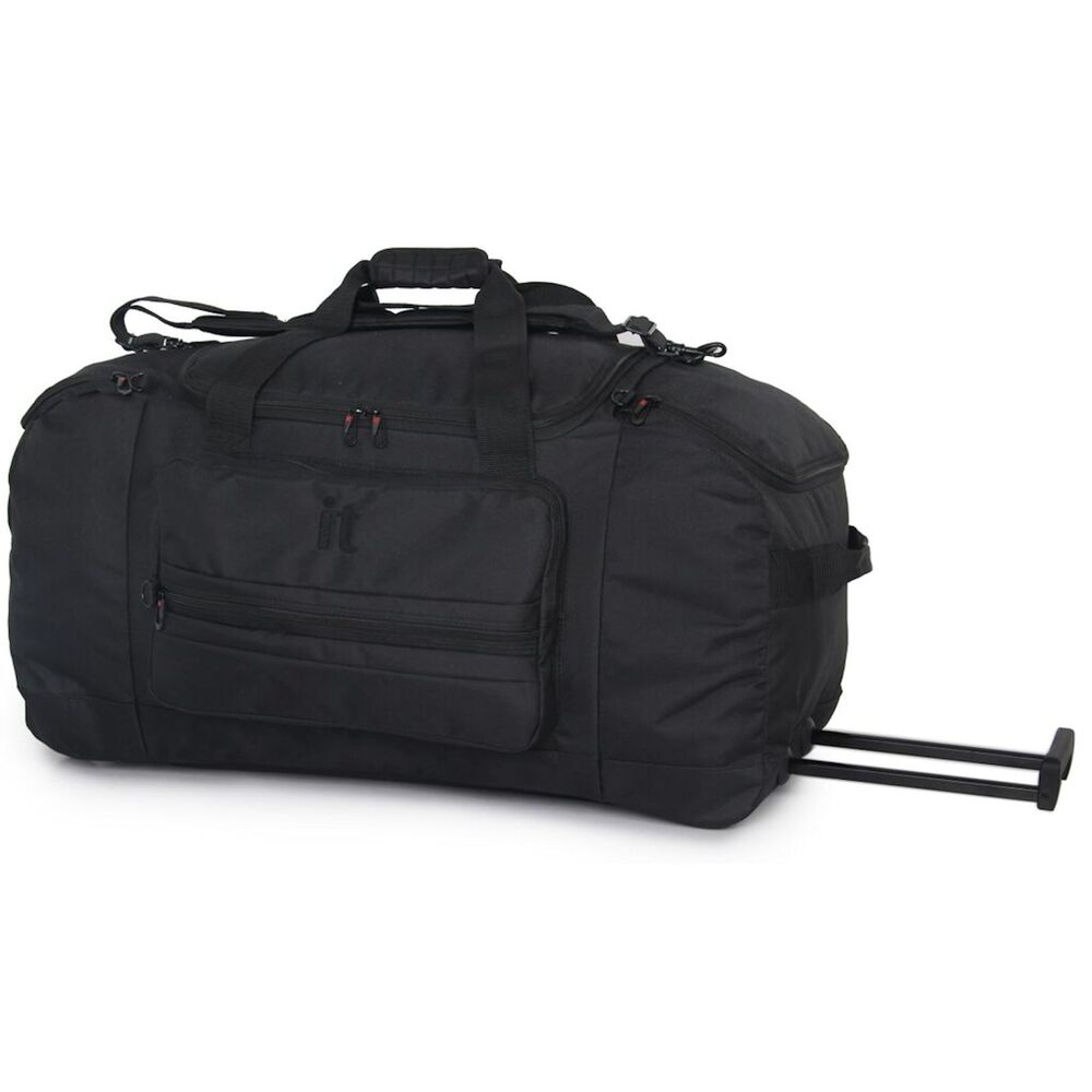 it luggage euston wheeled trolley rolling duffle bag. Black Bedroom Furniture Sets. Home Design Ideas