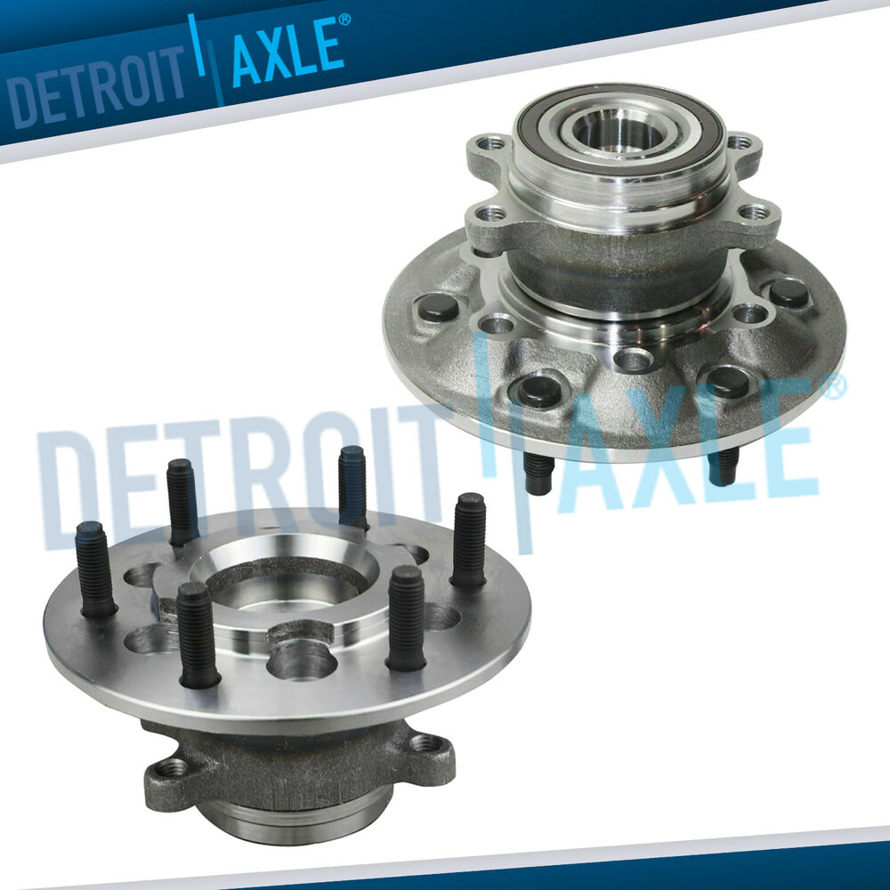 Hub Truck Parts : Pair brand new complete front wheel hub bearing wd