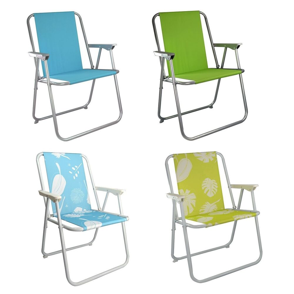 GARDEN PATIO FOLDING CHAIR DECK PICNIC CAMPING BEACH BBQ PARTY CHAIR RELAX SE