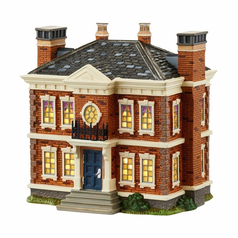 department 56 downton abbey village the dower house 4043909 ebay. Black Bedroom Furniture Sets. Home Design Ideas