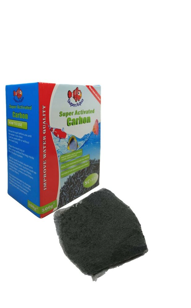 super activated carbon charcoal pellet filter media for